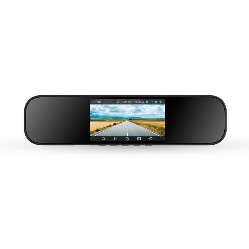 Espelho Retrovisor Com Câmera Gravadora Frontal Xiaomi de 5 Polegadas