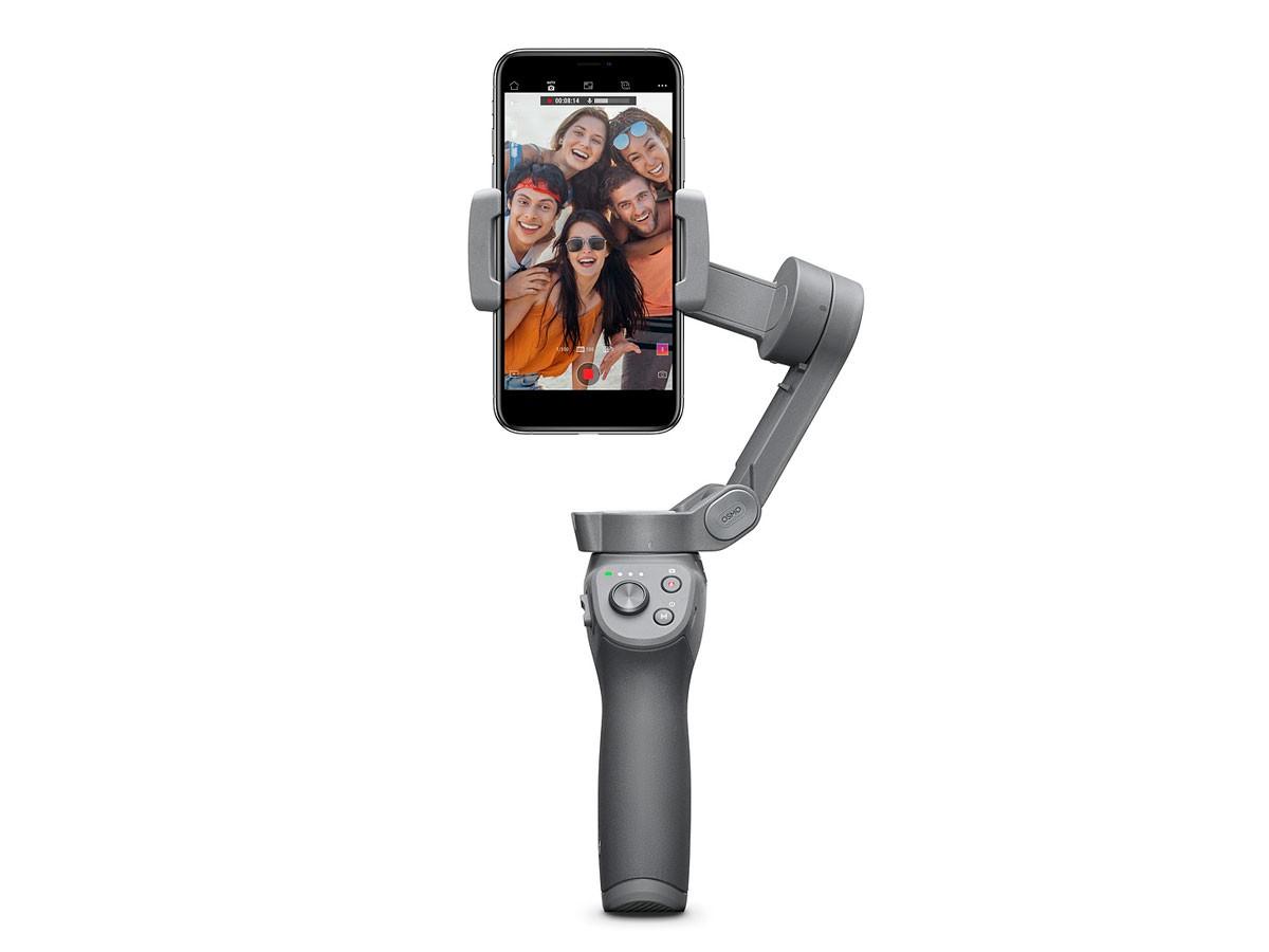 Estabilizador para Smartphones DJI Osmo Mobile 3 Versão Combo (Tripé + Bolsa) - Recondicionado