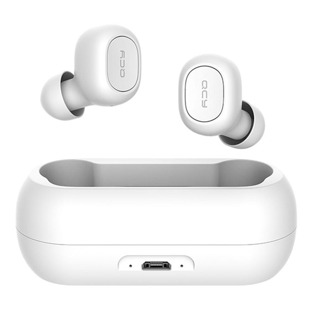Fone Bluetooth 5.0 QCY T1C TWS Com Case Carregador de 380 mAh
