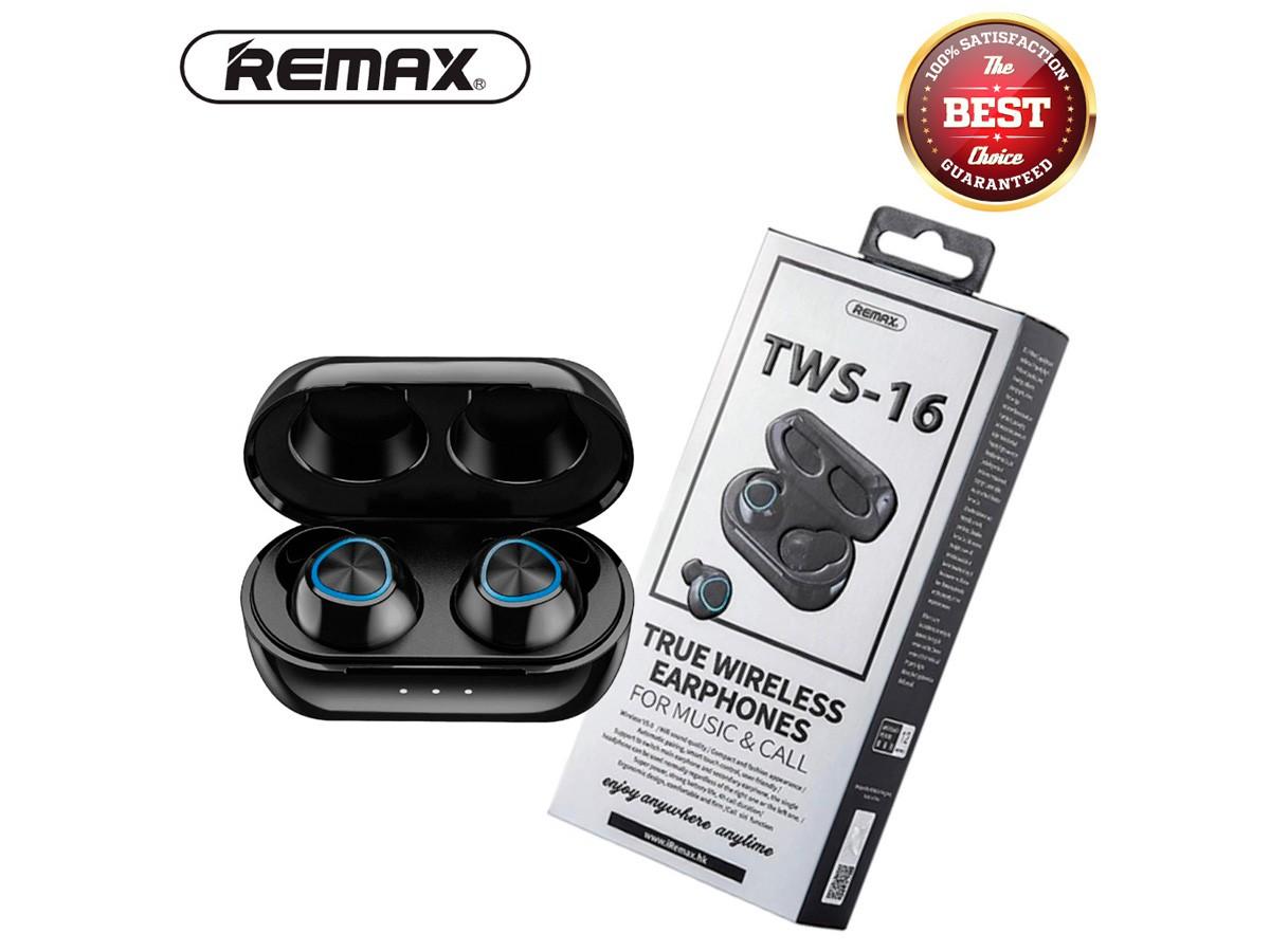 Fone de Ouvido Sem Fio Remax TWS-16 Bluetooth 5.0