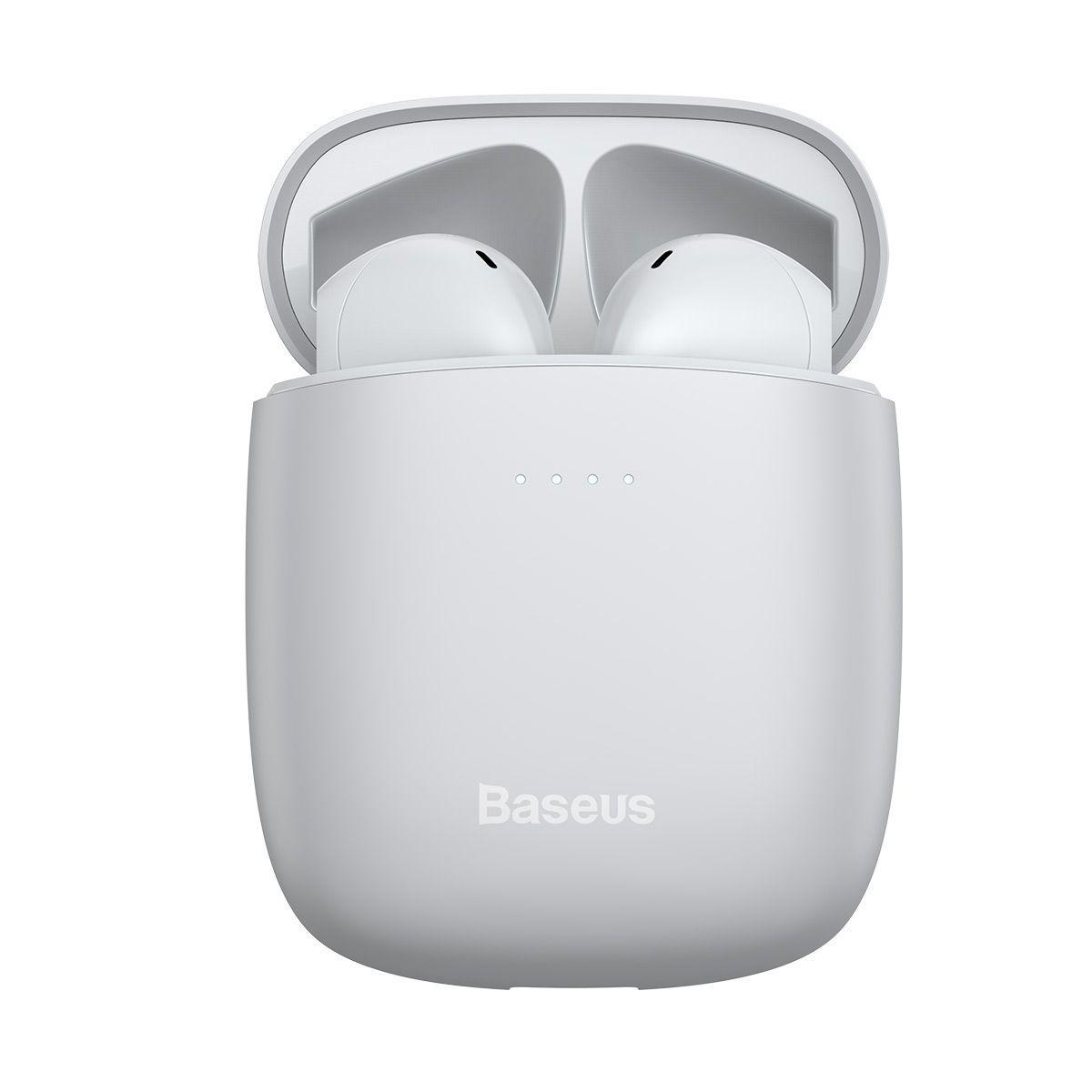 Fone de Ouvido Sem Fio TWS  Baseus Encok W04 Pro (com carregamento sem fio)
