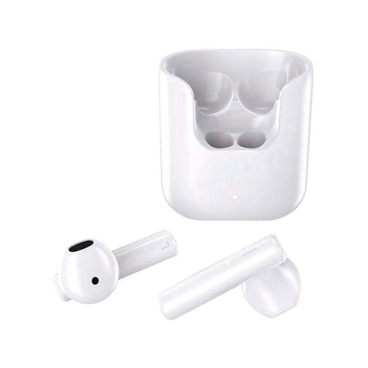 Fone Sem Fio QCY T12 TWS Bluetooth V5.1 com Case Carregador e Controle por Toque