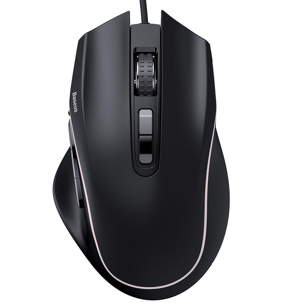 Gaming Mouse Baseus GAMO GM01 com 9 Botões Programáveis