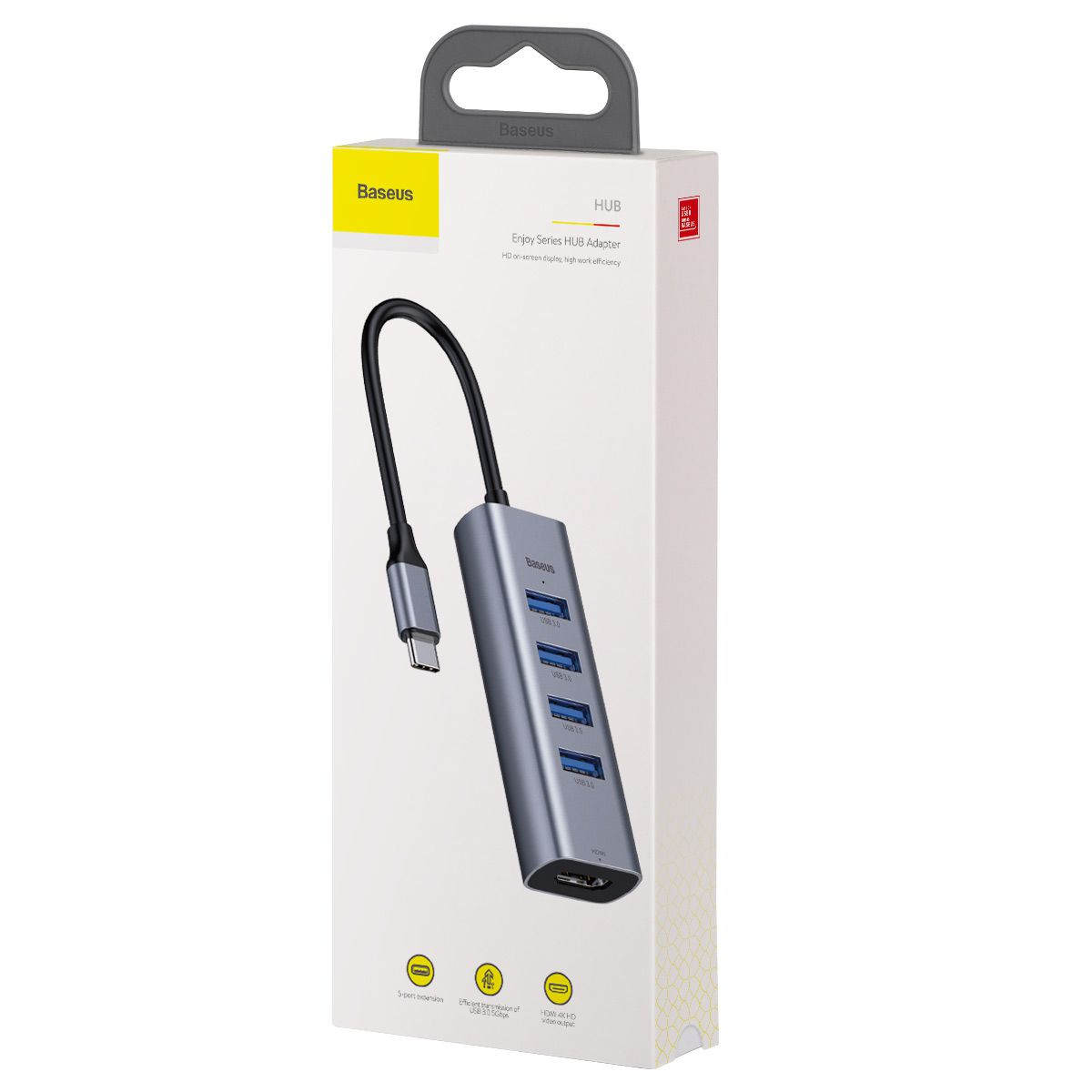 HUB Baseus Enjoy HDMI + 4 USB 3.0