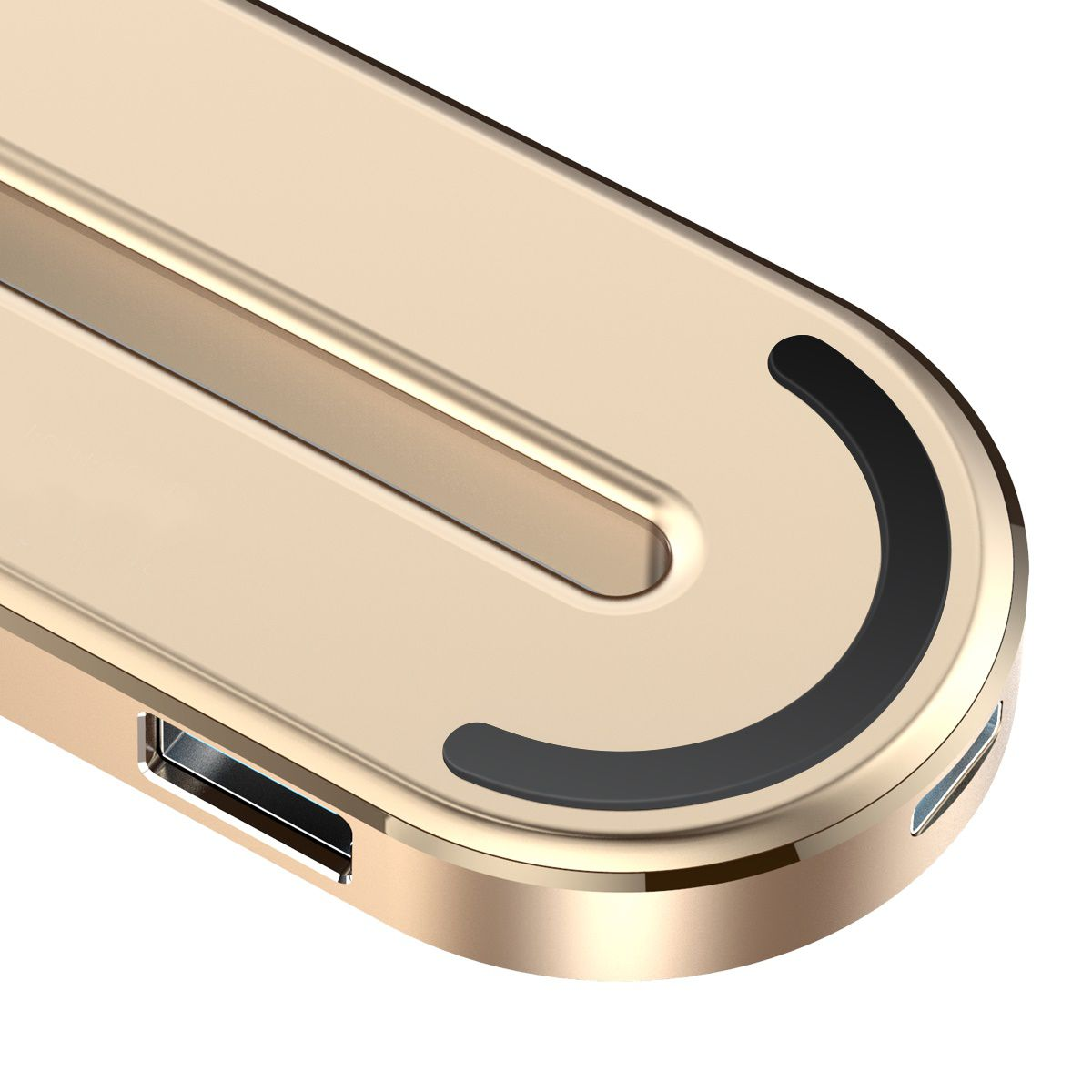 HUB Multifuncional 5n1 Baseus USB-C + HDMI + 3 USB 3.0 para MacBook e PC