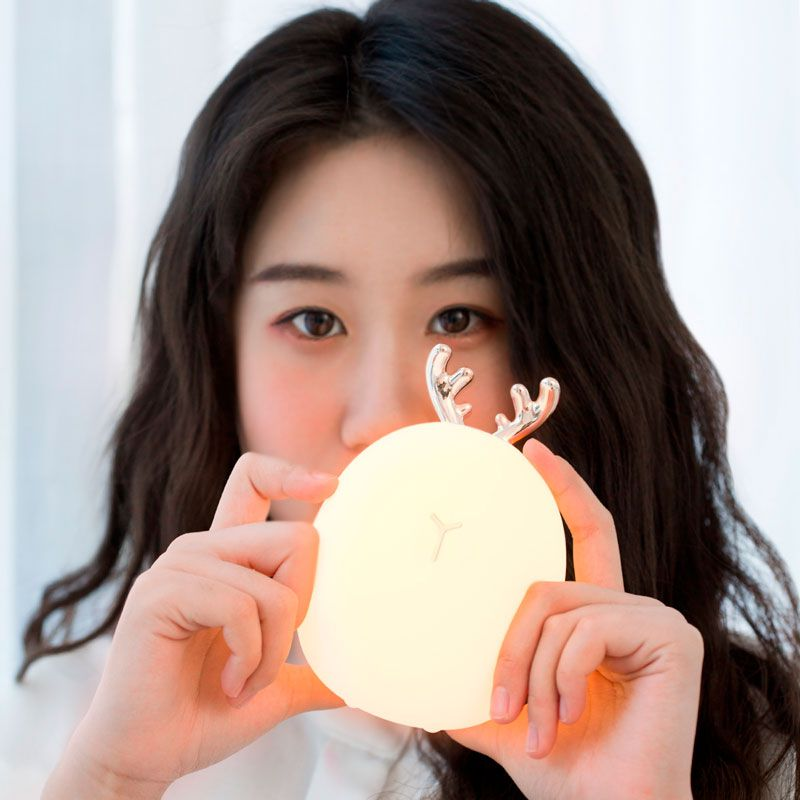Luminária em LED Portátil de Silicone Baseus Deer Night Light