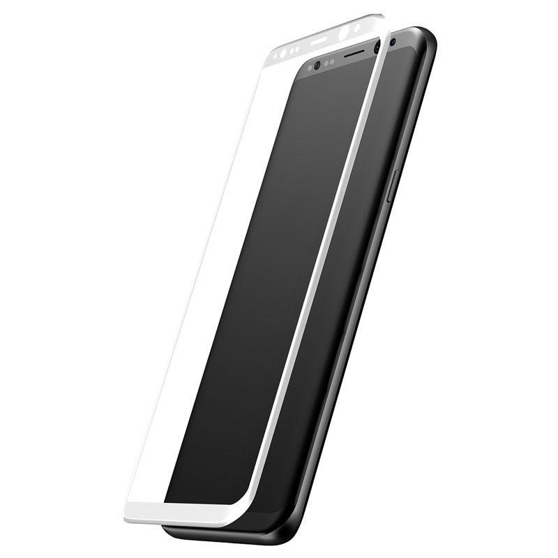 Película 3D Arc em Vidro Temperado Baseus para Samsung S8 Plus