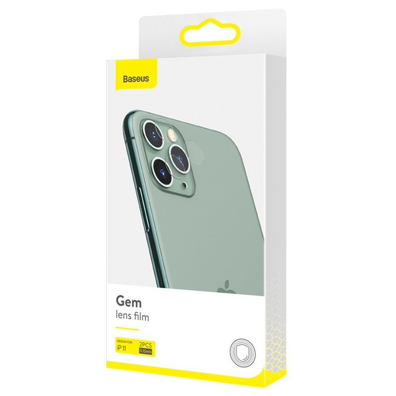 Película Baseus Gem para lente iPhone 11 Pro/iPhone 11 Pro Max