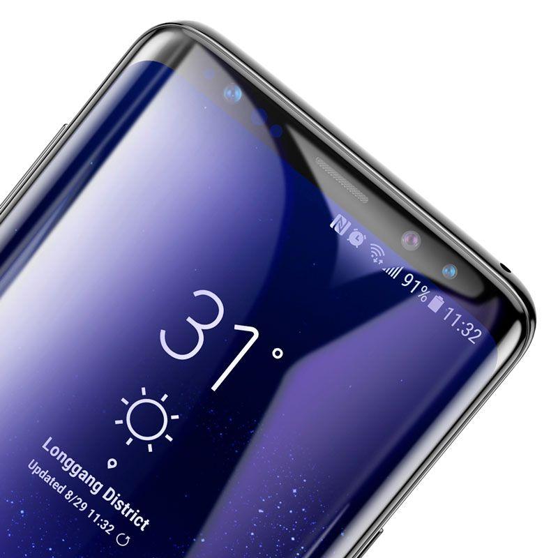 Película Protetora 3D Baseus com 0.3mm para Samsung S9 Plus