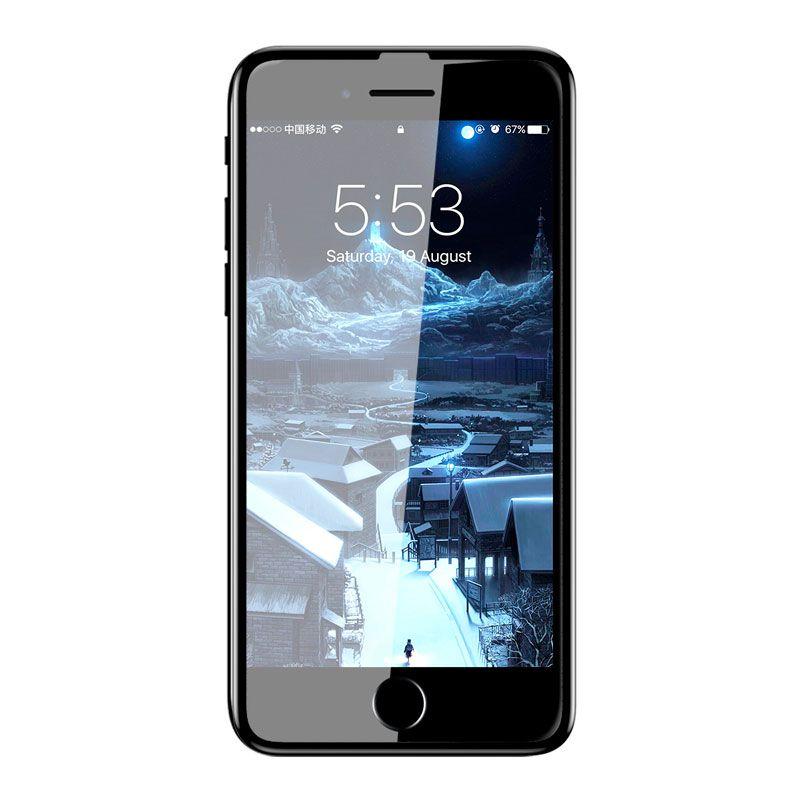 Película 3D em Vidro Temperado para iPhones 6 Plus/6S Plus/7 Plus/8 Plus com 0.23mm