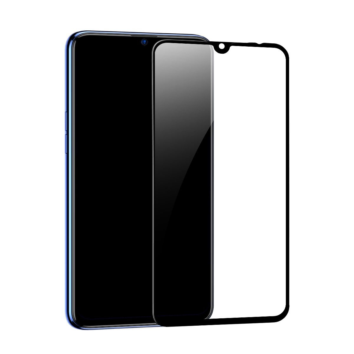 Película Protetora Curva de Vidro Temperado Baseus 0.3mm para Xiaomi Mi9