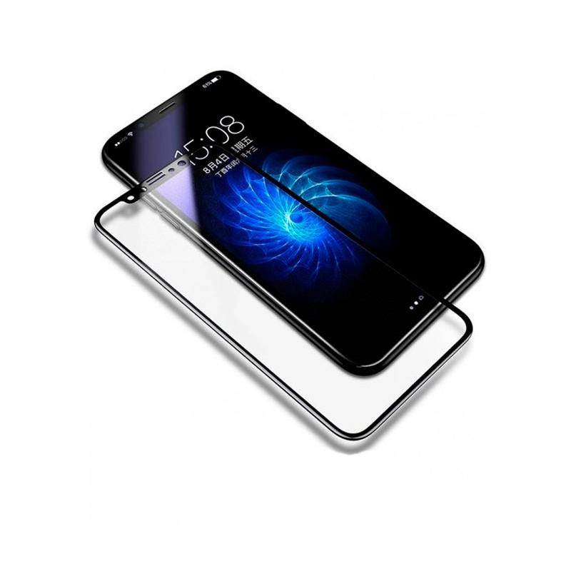 Película Baseus Em Vidro Temperado  Para iPhone X 0.2mm Anti-Blue Toque de Seda