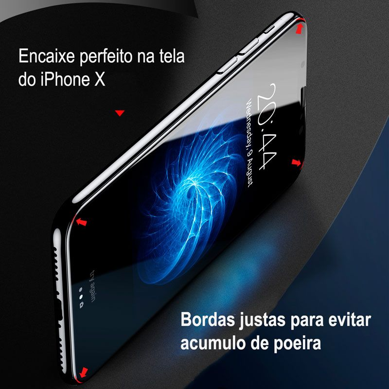 Películas Protetoras Frontal e Traseira para iPhone X