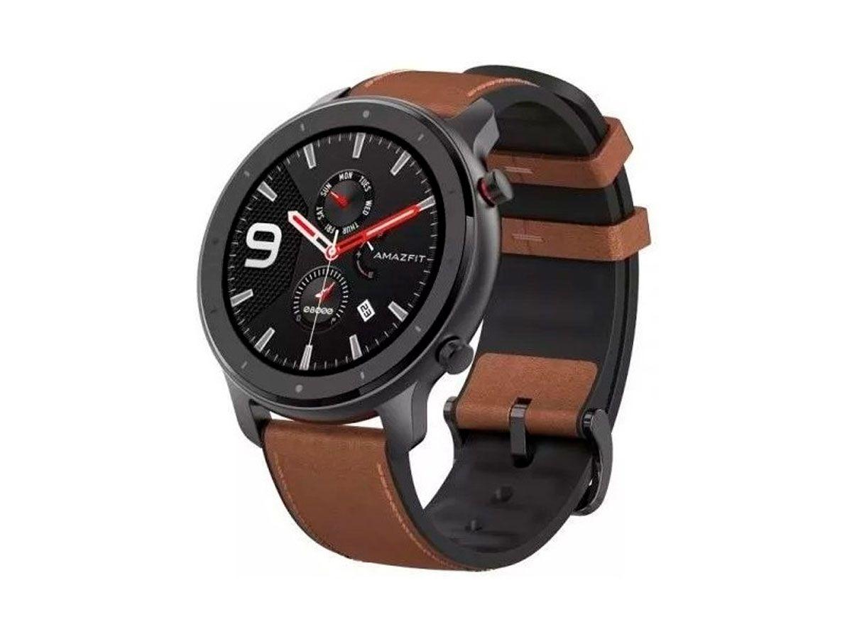Relógio Amazfit GTR 47mm A1902 GPS+ GLONASS + 50M de Profundidade