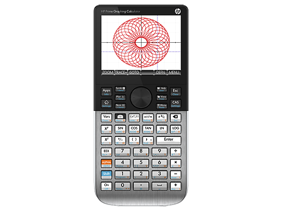 Calculadora Gráfica Tela Touch Digital Original Hp Prime V2