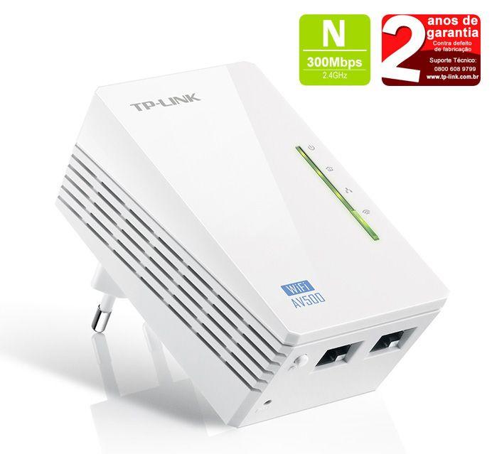 Extensor Powerline Wi-fi Av500 Tp-link Tl-wpa4220a | S/caixa