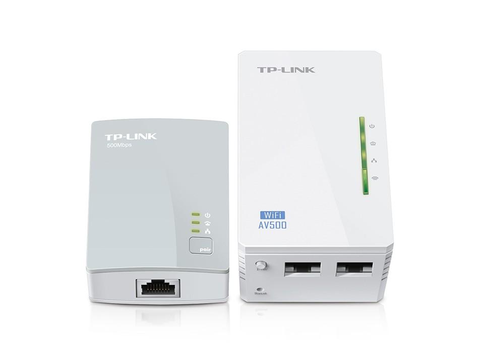 Extensor Wireless Powerline Tp-link Tl-wpa4220kit Wpa4220