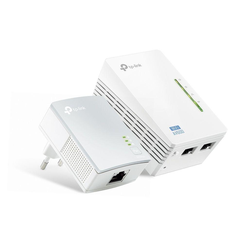 Novo Extensor Wireless Powerline Tp-link Tl-wpa4220kit V3.0