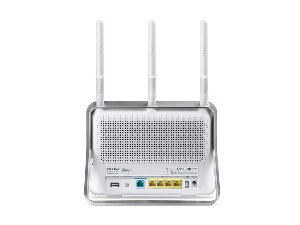 Novo Roteador Wireless Gb Ac1750 Dual-band Tp-link Archer C8