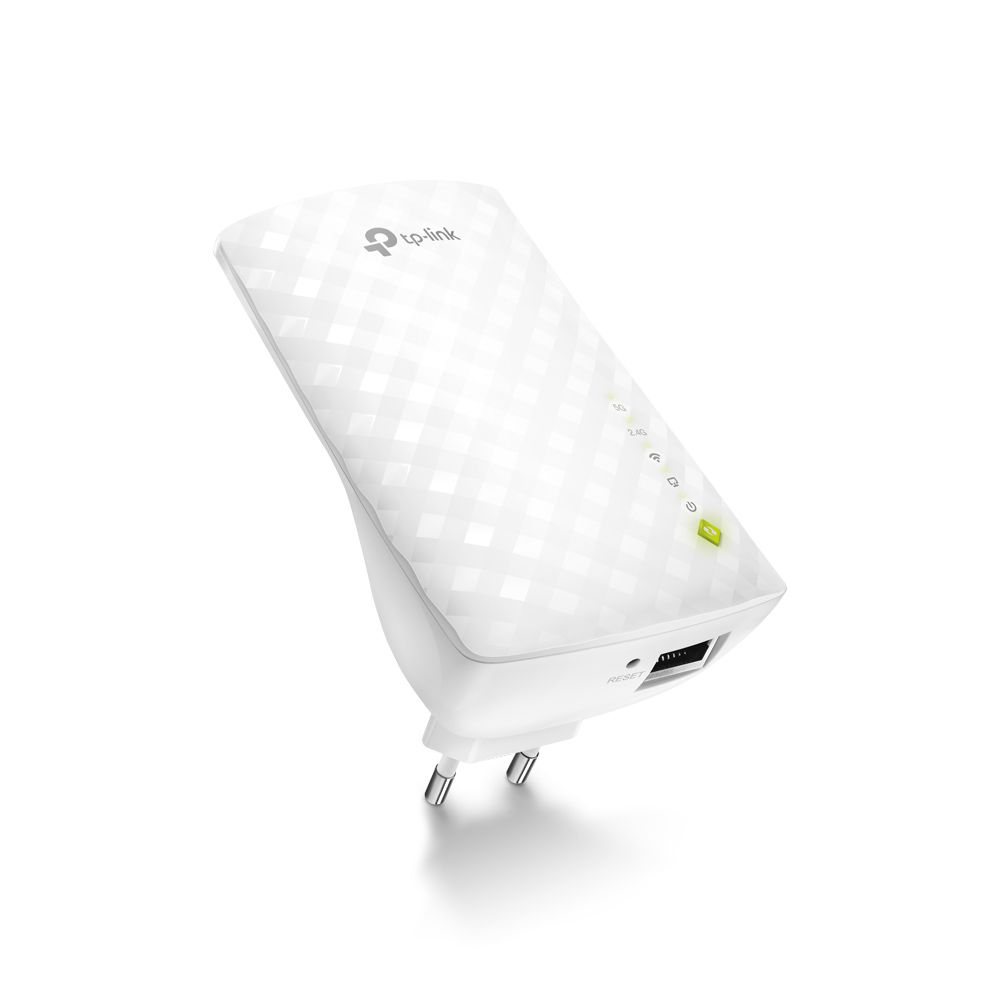 Repetidor De Sinal Tp-link Ac750 Dual Band 2.4 / 5ghz Re200