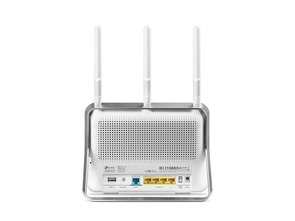 Roteador Wi-fi Tp-link Gigabit Dual-band Ac1900 Archer C9 - V4.0