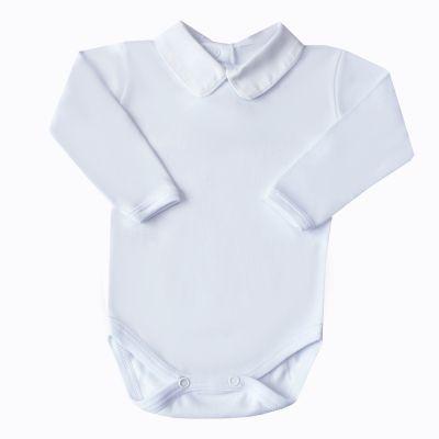 Body bebê com vivo - Branco