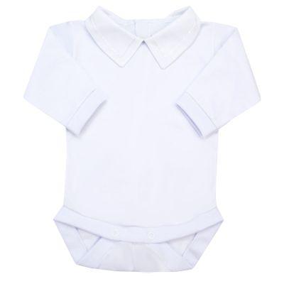 Body bebê corrente - Branco