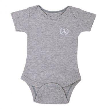 Body bebê manga curta - Mescla