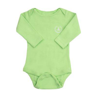 Body bebê manga longa - Verde claro