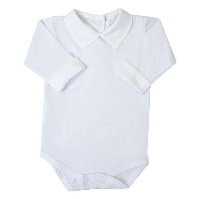 Body bebê masculino - Branco