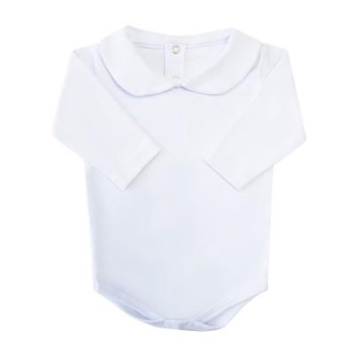 Body bebê unissex - Branco