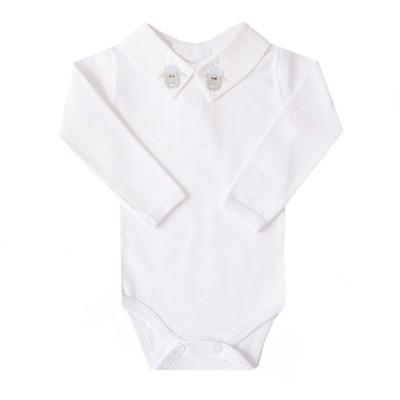 Body bebê ovelha - Branco