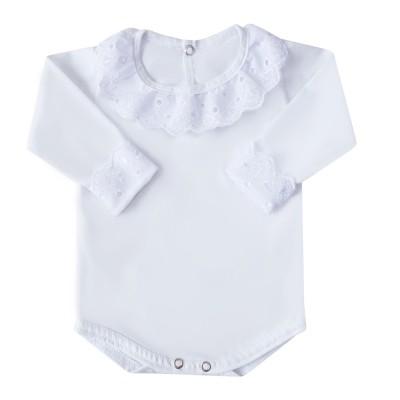 Body bebê princesa - Branco