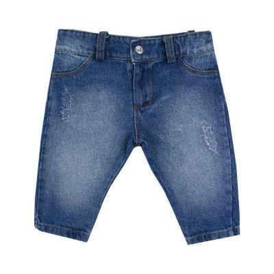 Calça bebê rasgada - Jeans