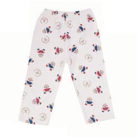 Calça bebê ursinhos - Marfim