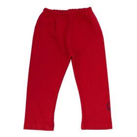 Calça bebê - Vermelho