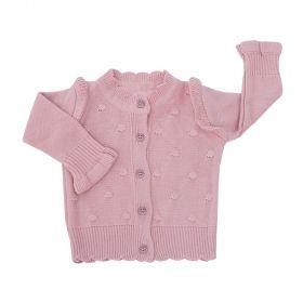Casaco bebê - Rosê escuro
