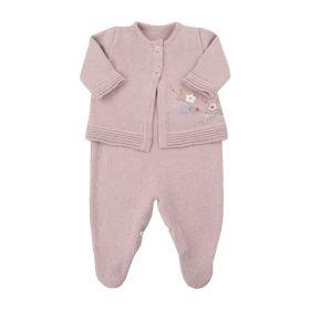 Conjunto bebê 2 peças - Rosê