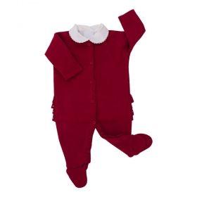 Conjunto bebê 2 peças - Vermelho