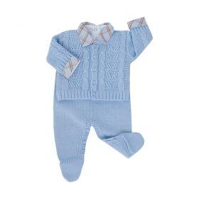Conjunto bebê - Azul bebê