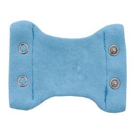 Extensor de body bebê 2 botões - Azul