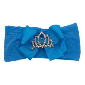 Faixa bebê de meia - Azul turquesa
