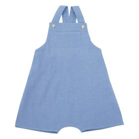 Jardineira bebê masculina - Jeans