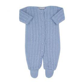 Macacão bebê - Azul bebê