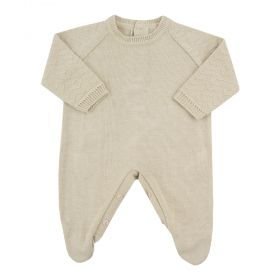 Macacão bebê em tricot masculino - Rolex