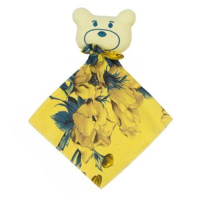 Naninha bebê floral - Amarelo