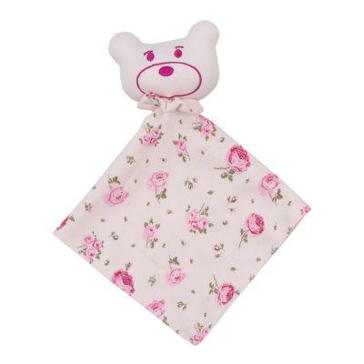 Naninha bebê floral - Rosa bebê