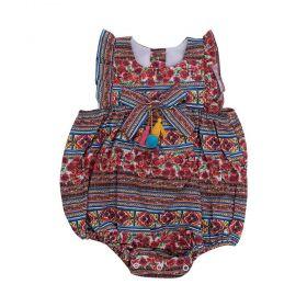 Pimpão bebê estampado - Terracota