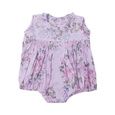 Pimpão bebê floral - Rosa