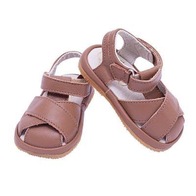 Sandália bebê masculina - Marrom